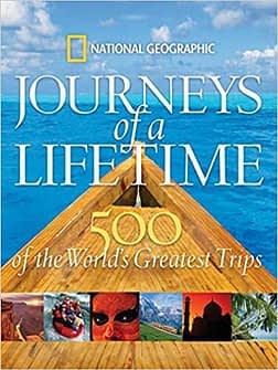 Great travel gifts for her - National geographic travel book