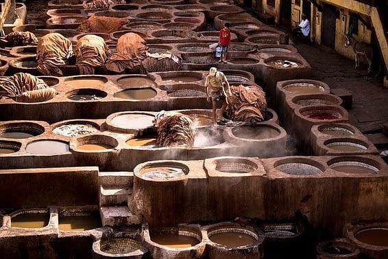 tannery scam marrakech