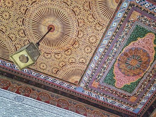 bahia palace - marrakech palaces