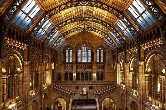 natural history museum - best places to visit in london for free